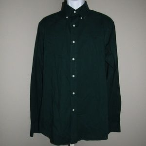 Lauren Ralph Lauren Dress Shirt Green Size 16 1/2